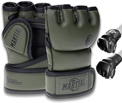 PU Leder MMA Boxhandschuhe Kampfsport Handschuhe Training f/ür Herren