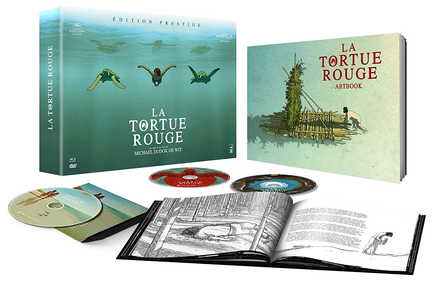 The Red Turtle La Tortue Rouge 2016 Wild Bunch Studio Ghibli Why Not Productions Blu Ray Forum
