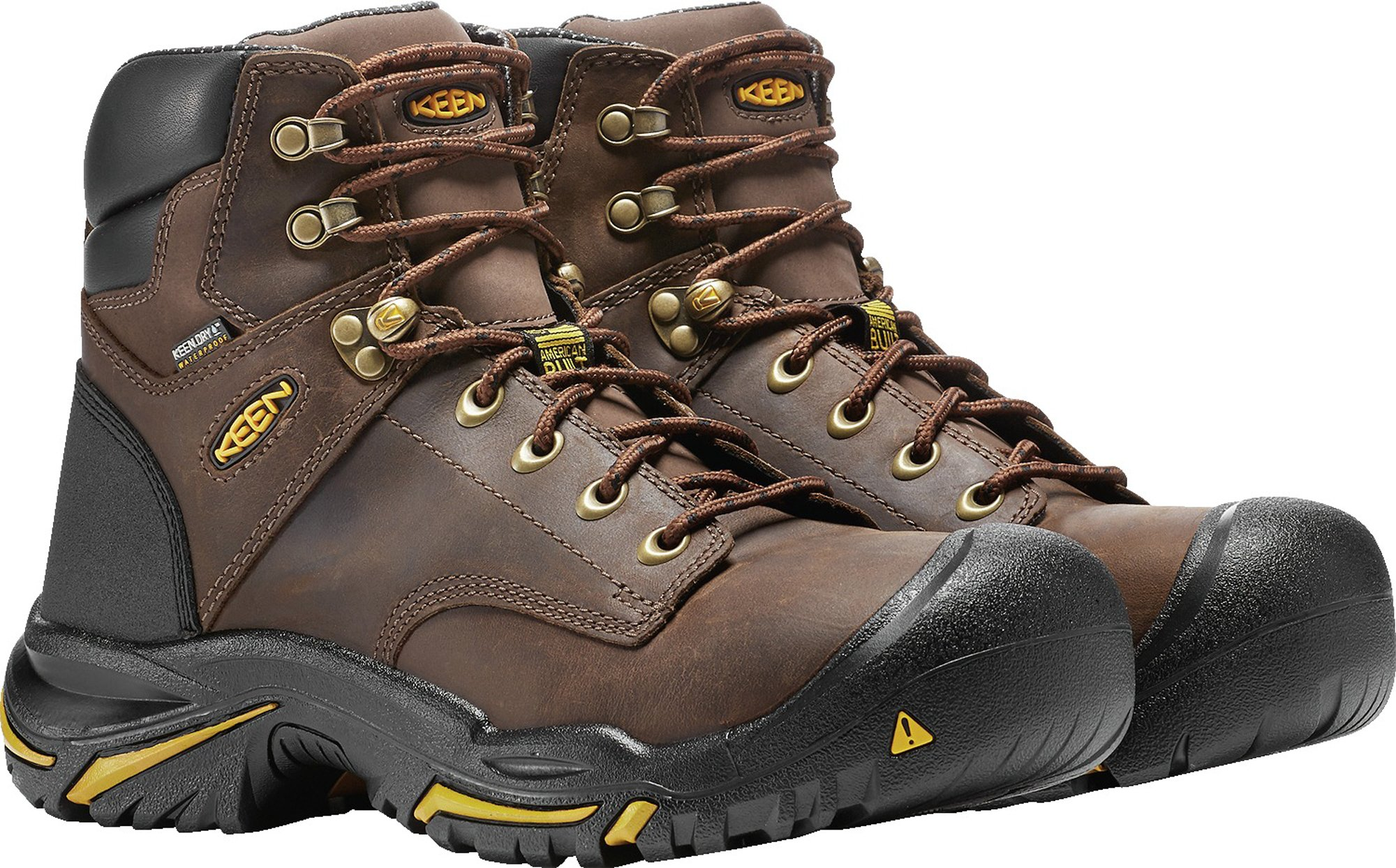 KEEN Utility MT Vernon 6'' Waterproof (Steel Toe), Men's Work Boot, Cascade Brown, 15 EE by KEEN Utility (Image #9)
