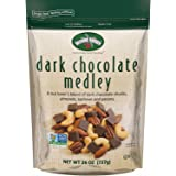 Second Nature Dark Chocolate Medley Trail Mix 26 oz Resealable Pouch - A Nut Lover's Blend of Dark Chocolate Chunks, Almonds, Cashews and Pecans - Non GMO Project Verified
