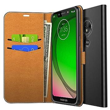 Yocktec Funda para Motorola Moto G7 Play, Funda de Billetera con ...