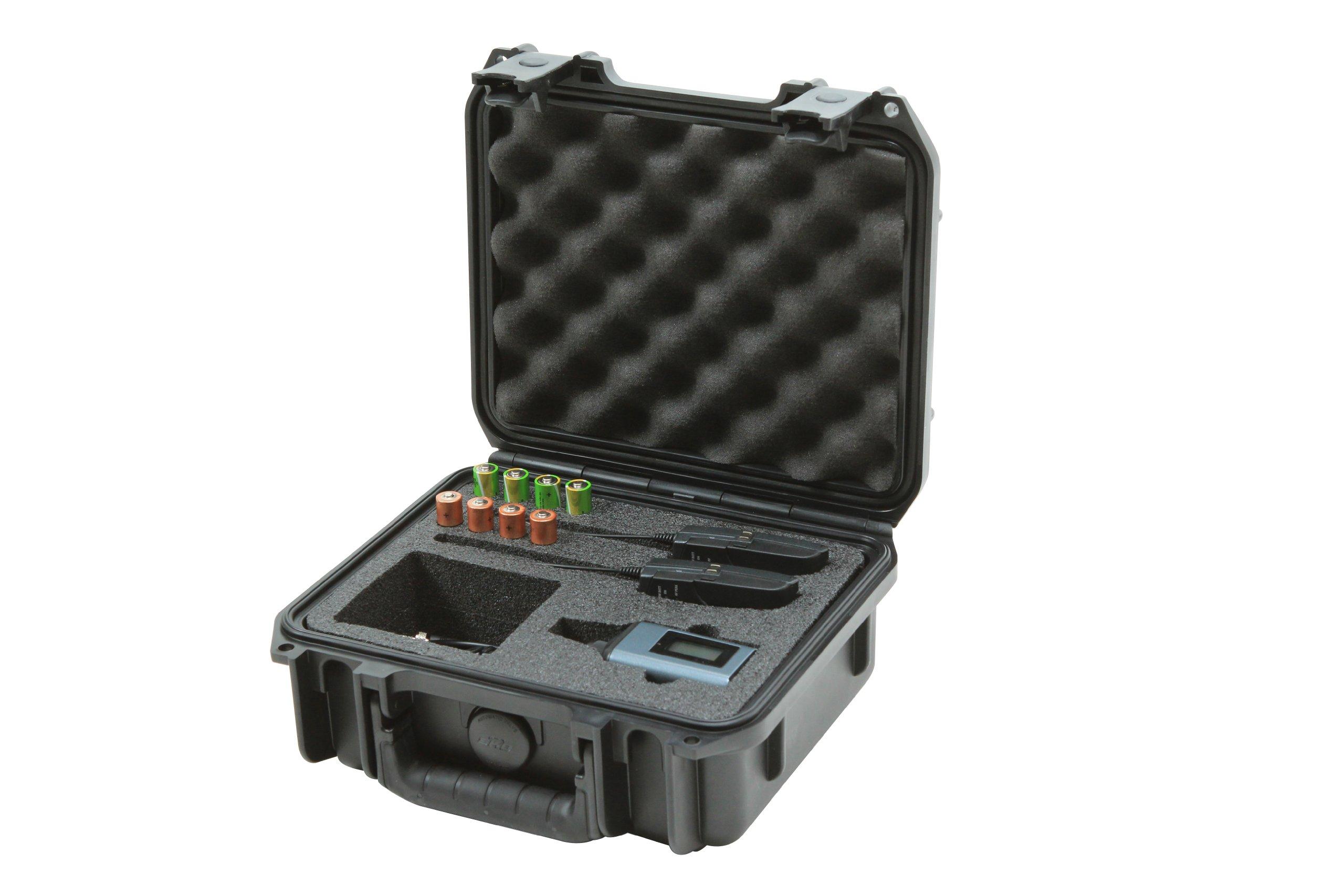 SKB 3I0907-4-SWK iSeries Injection Molded Case for Sennheiser SW Wireless Mic Series
