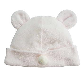 fd42f558fd991 新生児ベビー用お帽子 ピンク