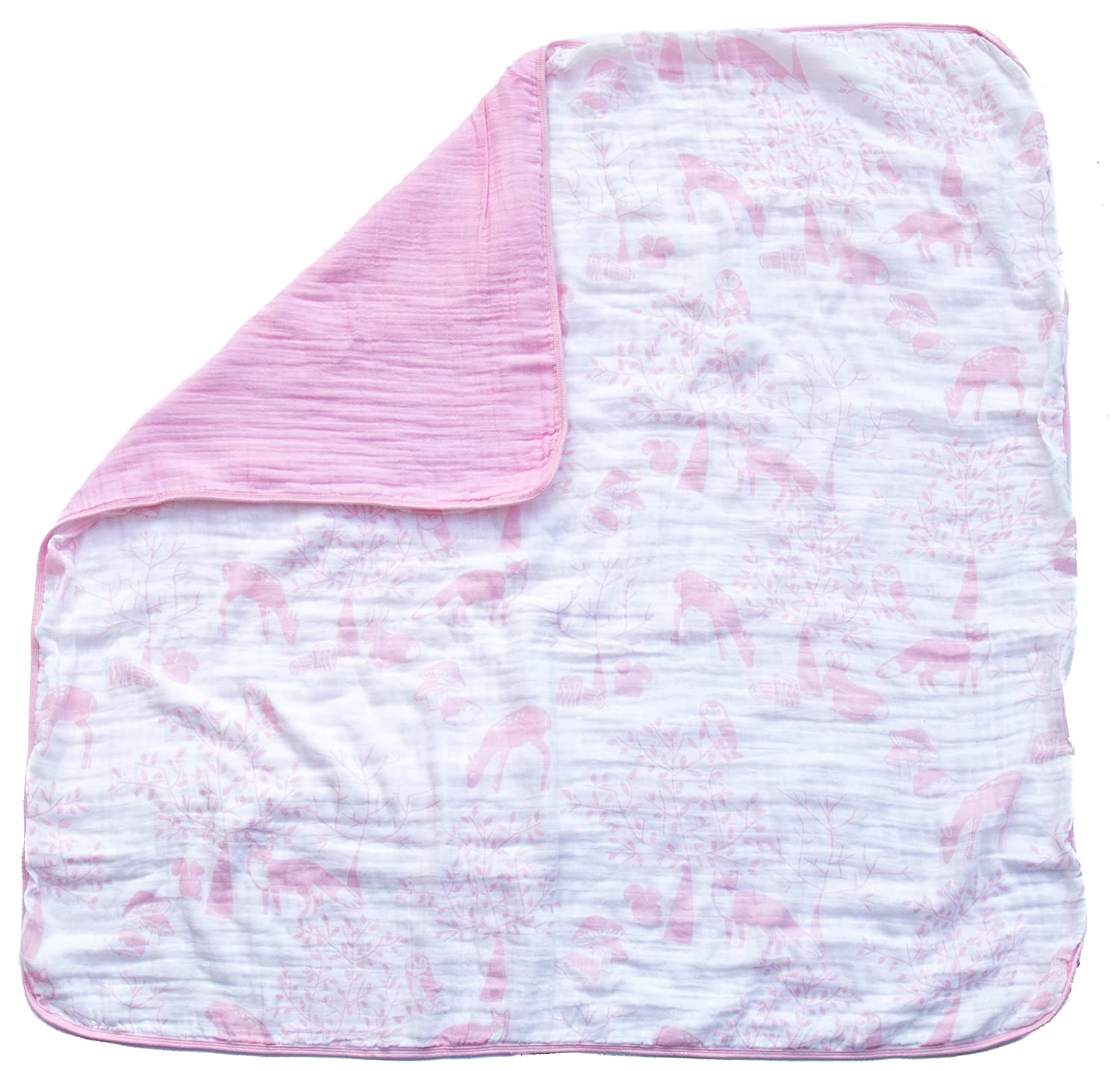 Cuddle Bears by Clover /& Sage 100/% Hypoallergenic Cotton Bed Blankets Organic Muslin Baby Toddler Blanket