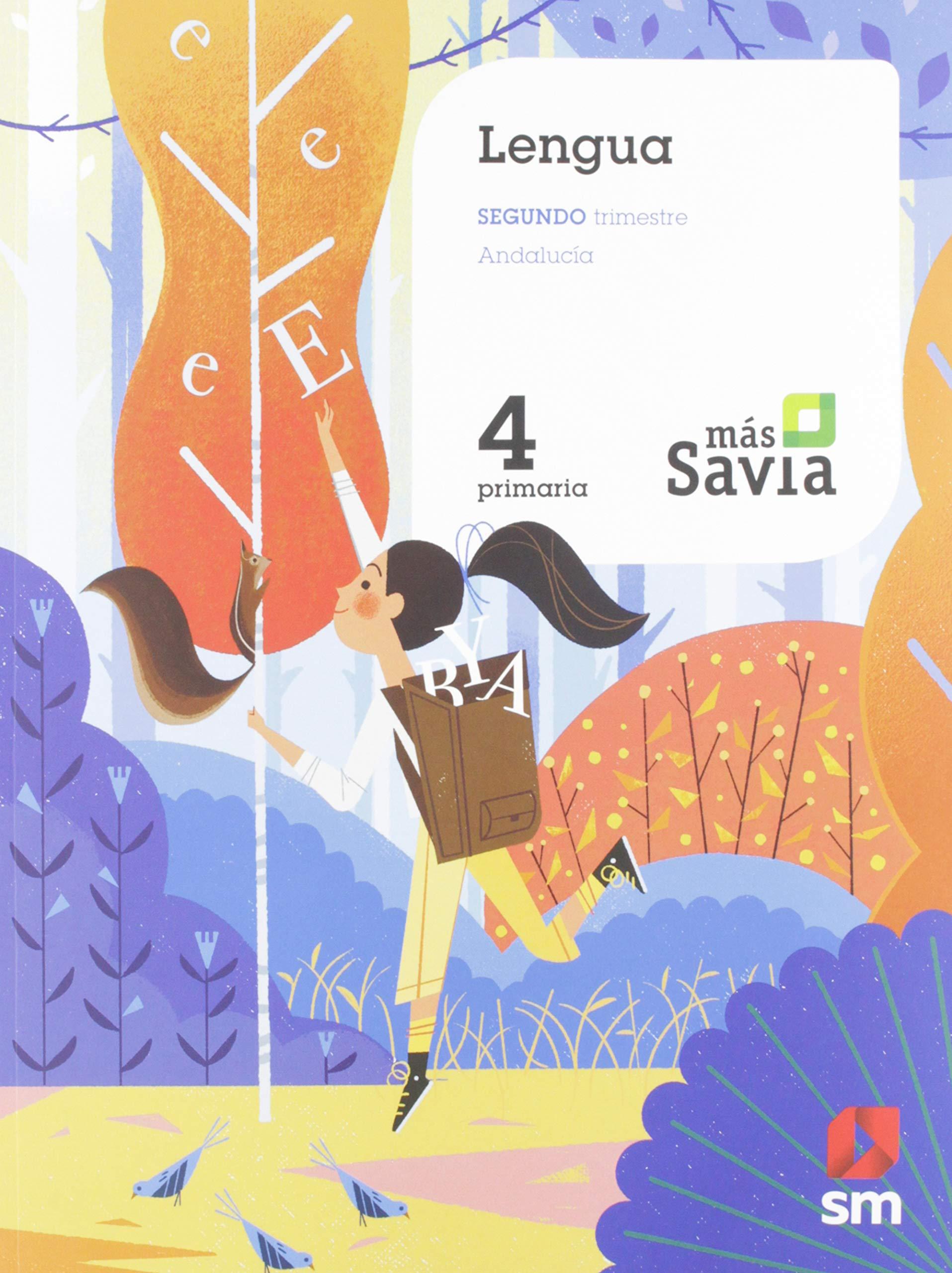 Lengua. 4 Primaria. Mas Savia. Andalucía: Amazon.es: Esther ...