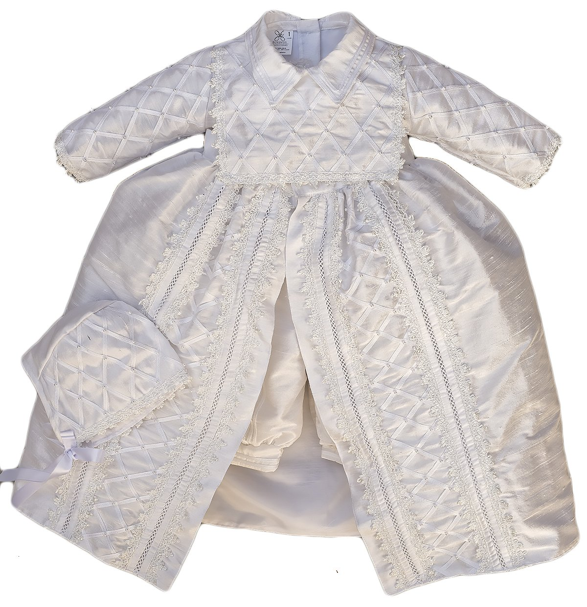 Amazon.com: Boy Christening and Baptism Outfit Ropon Bautizo Burbvus ...