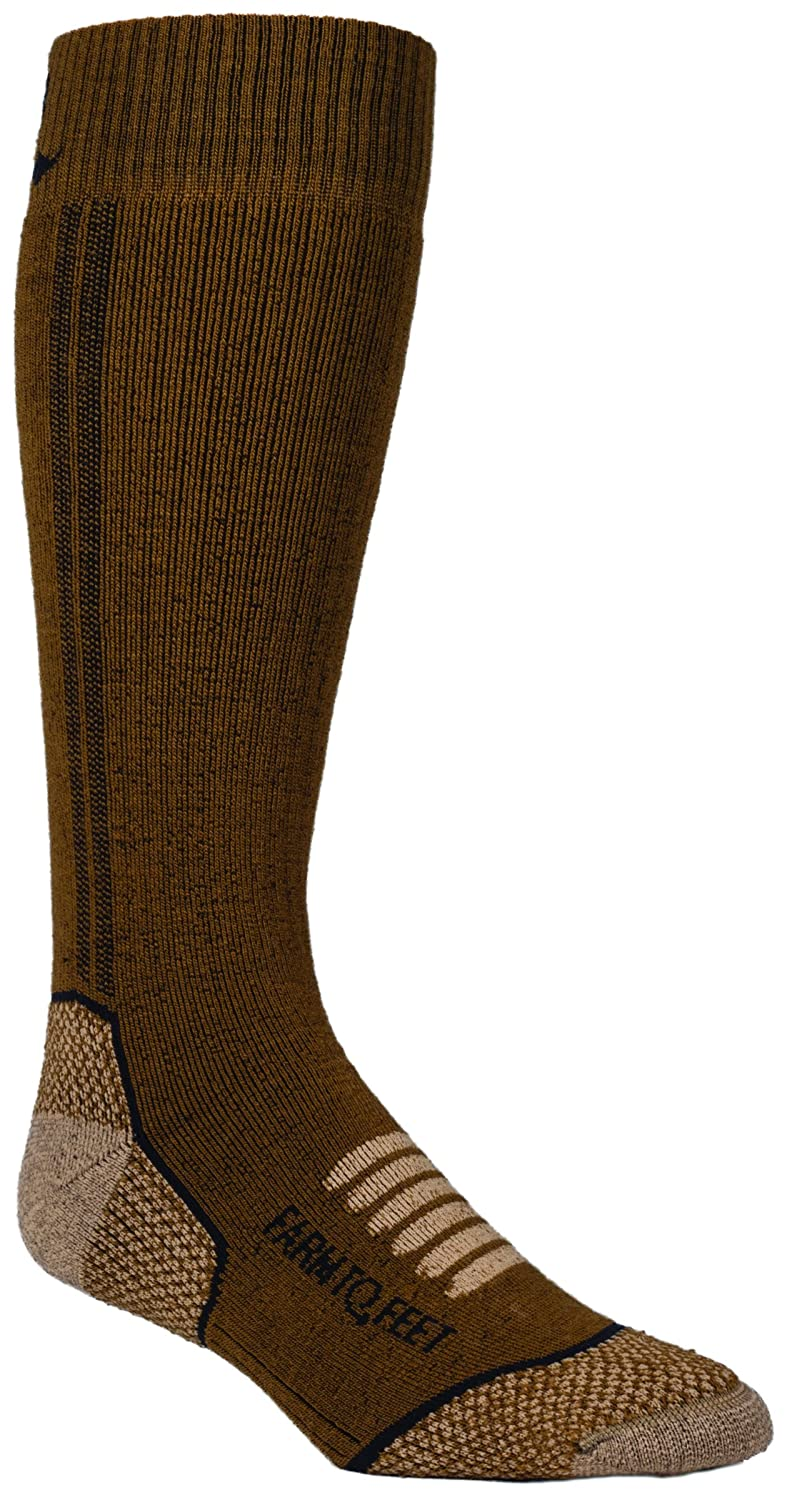 Farm 2 Feet Ely Medium Weight Mid-Calf comes with a Helicase sock ring