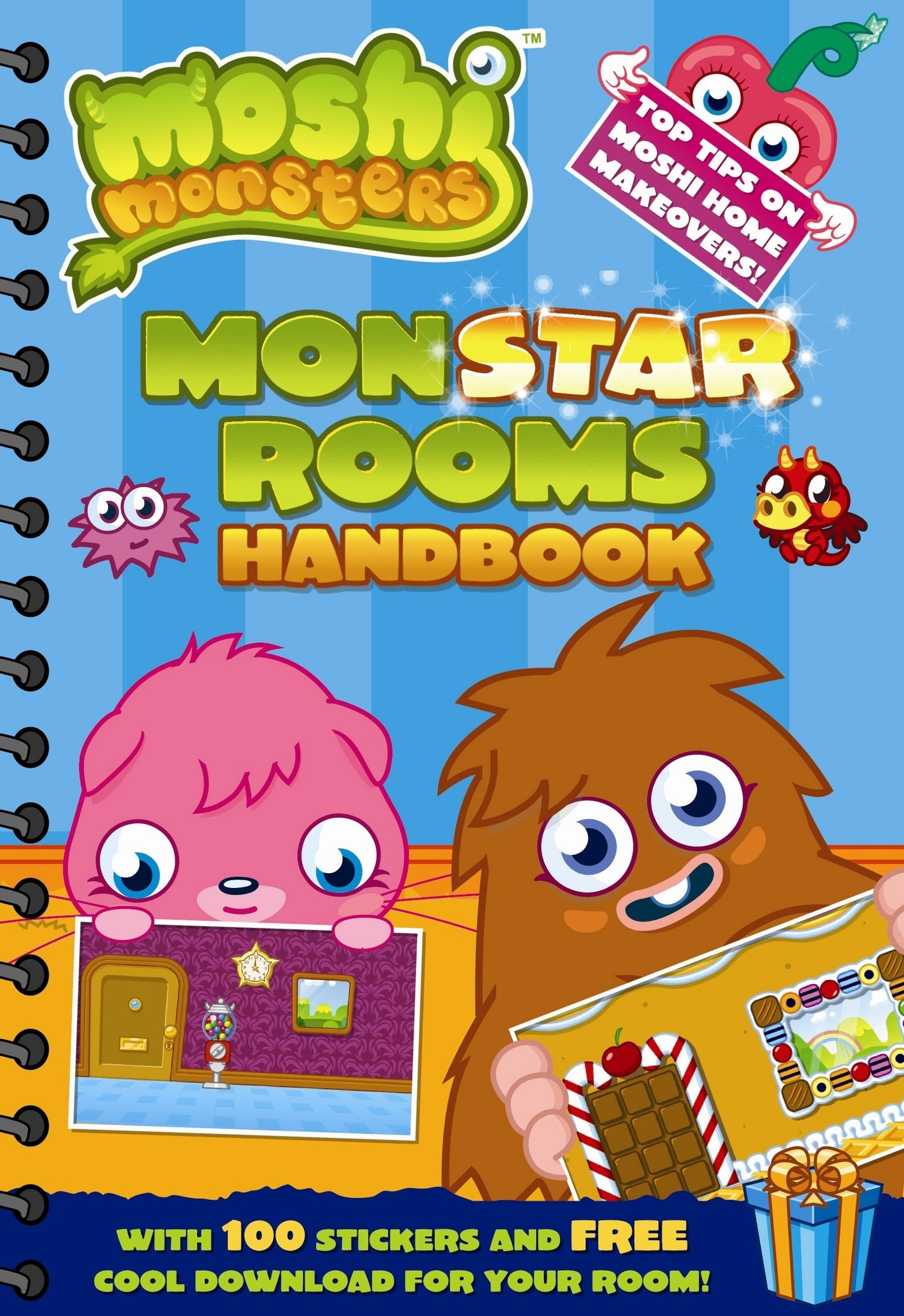Moshi Monsters Monstar Rooms Handbook Sunbird 9781409390435 Amazon Com Books