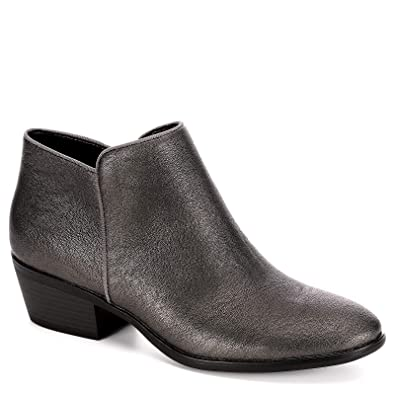 e5ea52f5bed6 XAPPEAL Womens Stewart Low Heel Ankle Cut Bootie Shoes