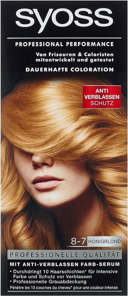 Syoss Tinte para el cabello rubio miel: Amazon.es: Belleza