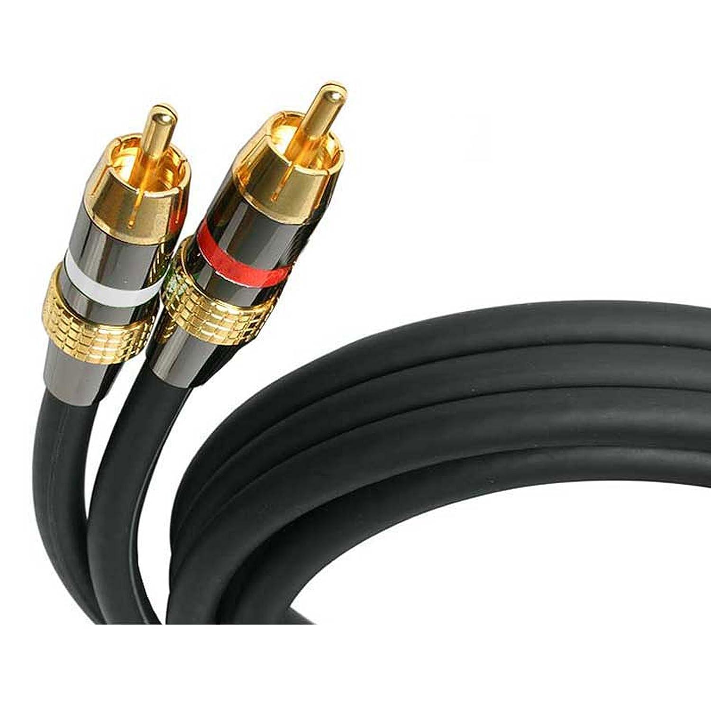 StarTech.com AUDIORCA50 Premium Stereo Audio Cable RCA, M/M, 50-Feet A/V Device Cables