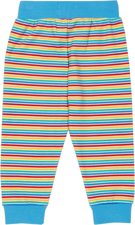 0-5 Years Navy Kite Boys Rainbow Cord Dungarees Organic