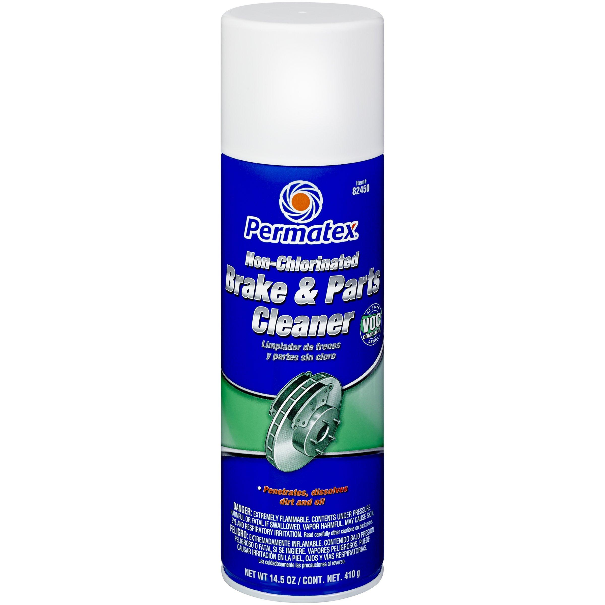 Permatex 82450-12PK Non-Chlorinated Brake and Parts Cleaner, 14.5 oz. (Pack of 12)