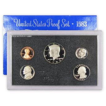 1981-S U.S MINT PROOF SET...6 COINS...BLACK BOX