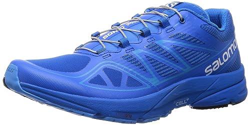 Salomon L37916800, Zapatillas de Trail Running para Hombre, Azul Union Process Blue, 41 1/3 EU: Amazon.es: Zapatos y complementos