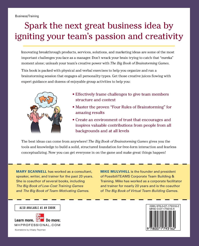 Big Book of Brainstorming Games: Quick, Effective Activities that ...