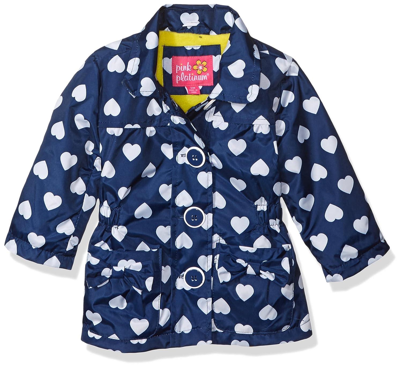 61e58590c Amazon.com  Pink Platinum Baby Girls Anorak Jacket