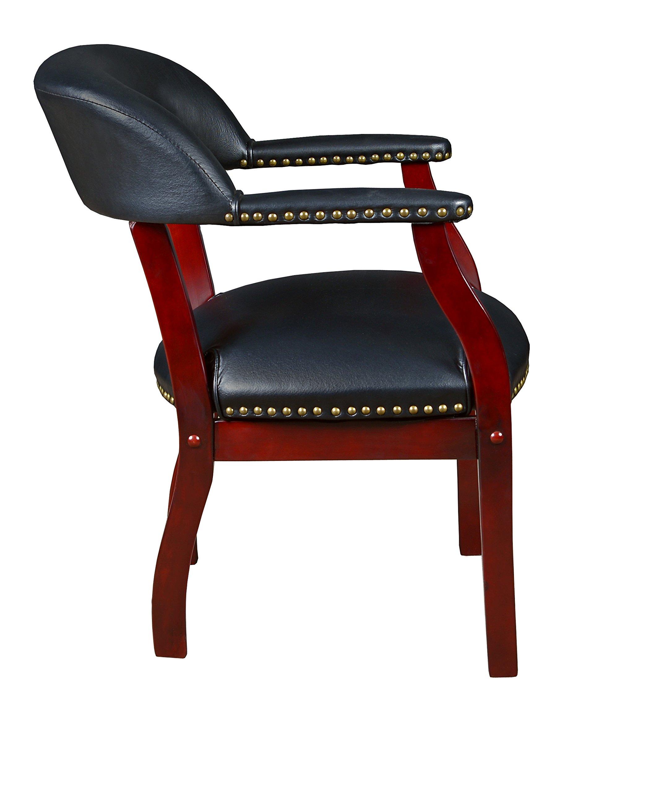 Regency Ivy League Captain Chair, Black by Regency (Image #5)