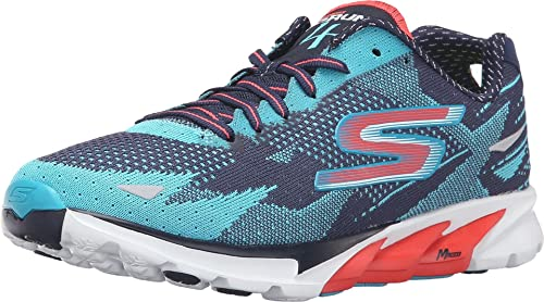 Zapatillas multideporte exterior Skechers Go Run 4 para mujer, color Azul, talla 37 EU: Amazon.es: Zapatos y complementos