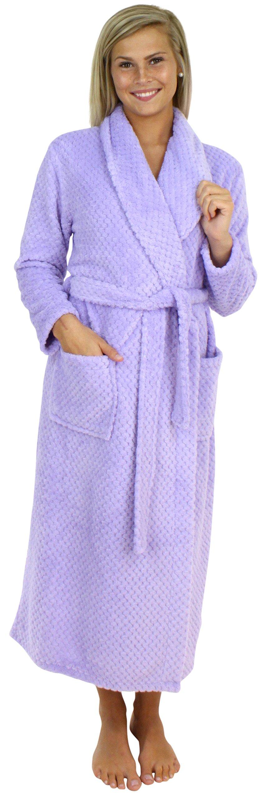Sleepyheads Bata Larga Guateada de vellón Mullido para Mujer product image