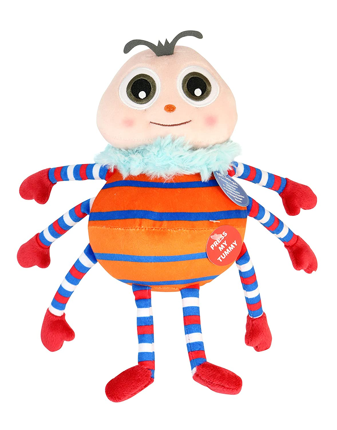 Little Baby Bum 11034 Spider Musical Singing Plush Multicolor