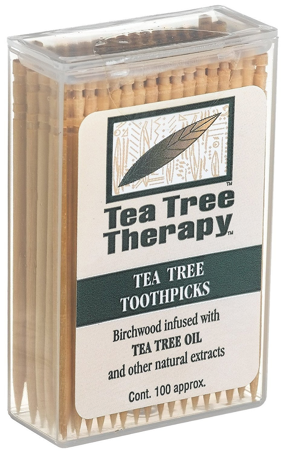 Tea Tree Therapy Toothpick Ttree And Mint