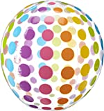 Intex FBA_2 x 59065EP Jumbo Inflatable Colorful Polka Dot Giant Beach Ball (Set of 2)