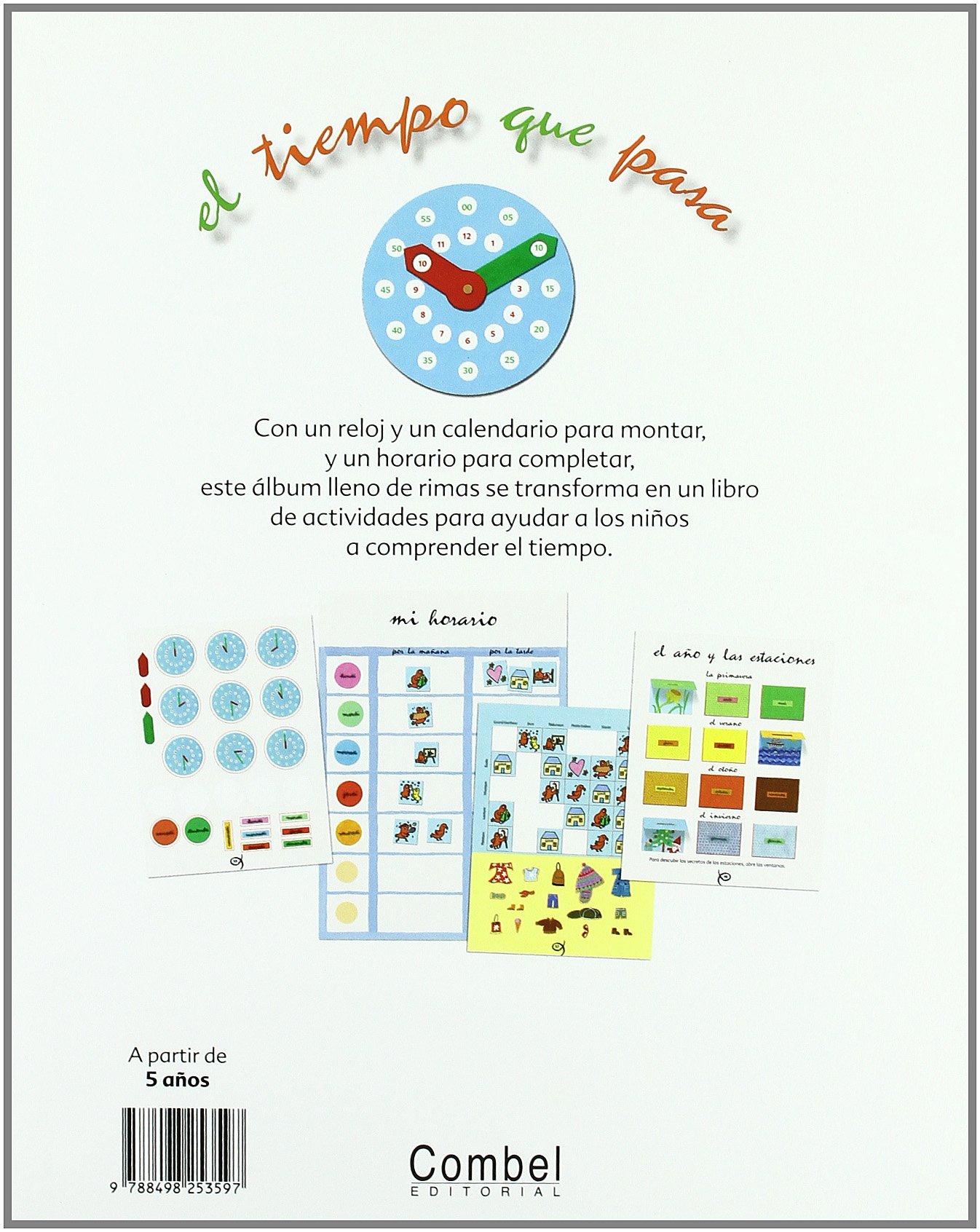 TIEMPO QUE PASA, EL (Spanish Edition): PASCALE ESTELLON : 9788498253597: Amazon.com: Books