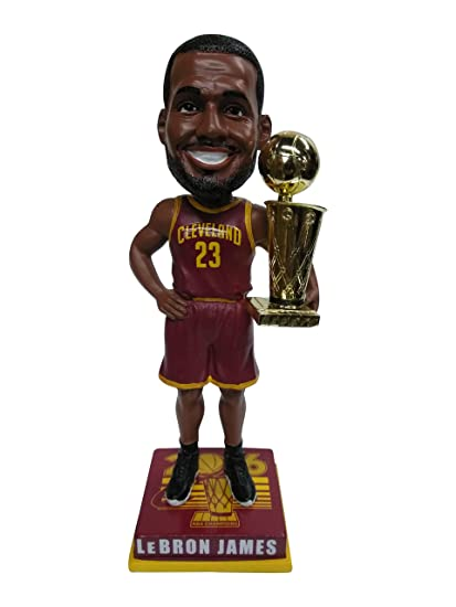 new concept a8955 13200 Forever Collectibles Lebron James Cleveland Cavaliers 2016 NBA Champions  Special Edition Wine Jersey Bobblehead Bobble Head - Individually Numbered  to ...