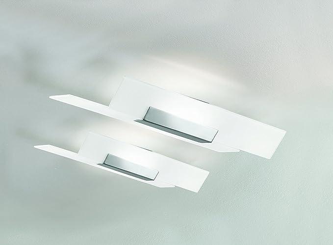 Fedra applique bianca amazon illuminazione