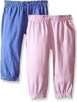 Carter's Baby Girls' 2 Pack Pants-Lavendar/Lilac
