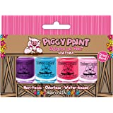 Piggy Paint 4 Pack Kit- Non-Toxic Nail Polish - Safe, Chemical Free…
