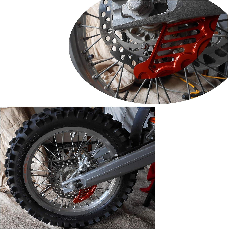 Rear Brake Disc Guard Protector 20mm axle Fit KTM 125-530 all 04-12,XCW//XCF-W//EXC//EXC-F 13-19,Husqvarna 125-501 ALL models 14-15,Husqvarna 125-501 TE//FE 16-17,Husaberg 250-570 allshippage 09-14