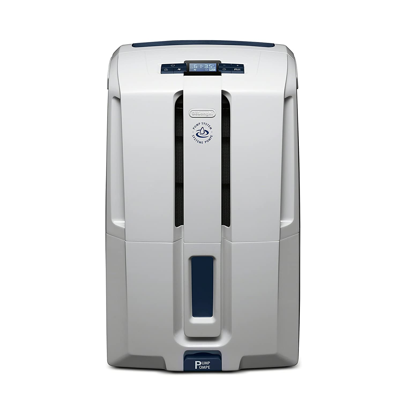DeLonghi Energy Star 50 Pint Dehumidifier White