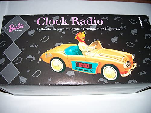 Barbie Clock Radio – Authentic Replica of Barbie s Original 1962 Convertible