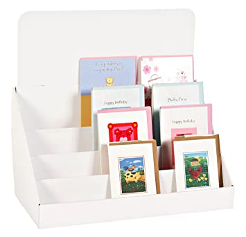 StandStore 400Inch 40 Tier Cardboard Greeting Card Display Stand Fascinating Cardboard Card Display Stand