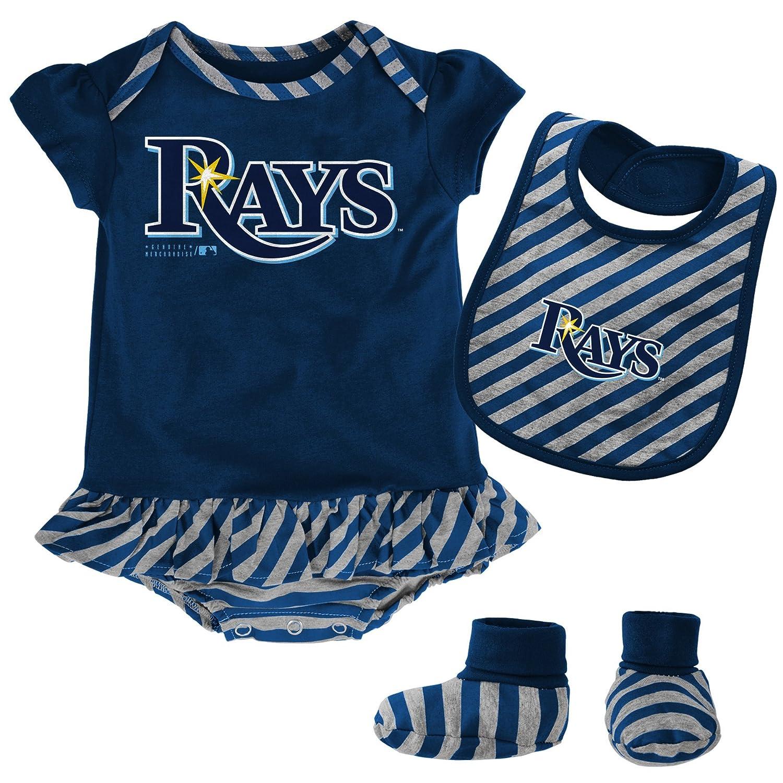 "Amazon MLB girls MLB Newborn & Infant Girls ""Striped"" esie"