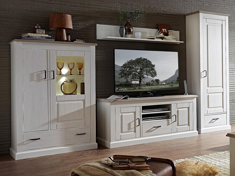Wohnwand TV-Wand Mediawand Schrankwand Anbauwand