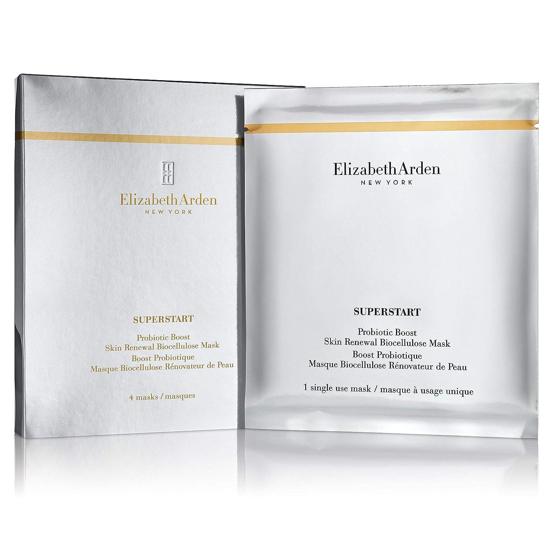 Elizabeth Arden Superstart Probiotic Boost renovación de la piel biocellulose máscara máscaras de (4) A0112506
