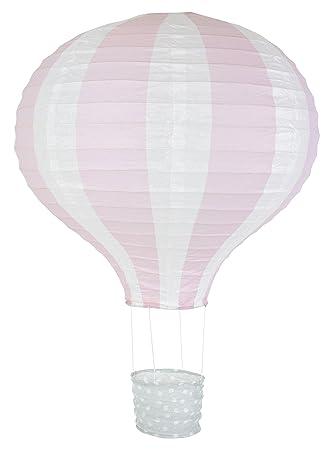 Jabadabado Lampenschirm Ballon Rosa Pastell Heissluftballon