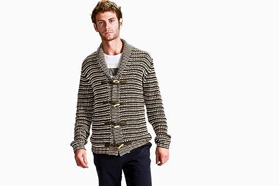 Amazon.com  Vanishing Elephant Men s Carolina Toggle Knit Sweater ... 20cd82324