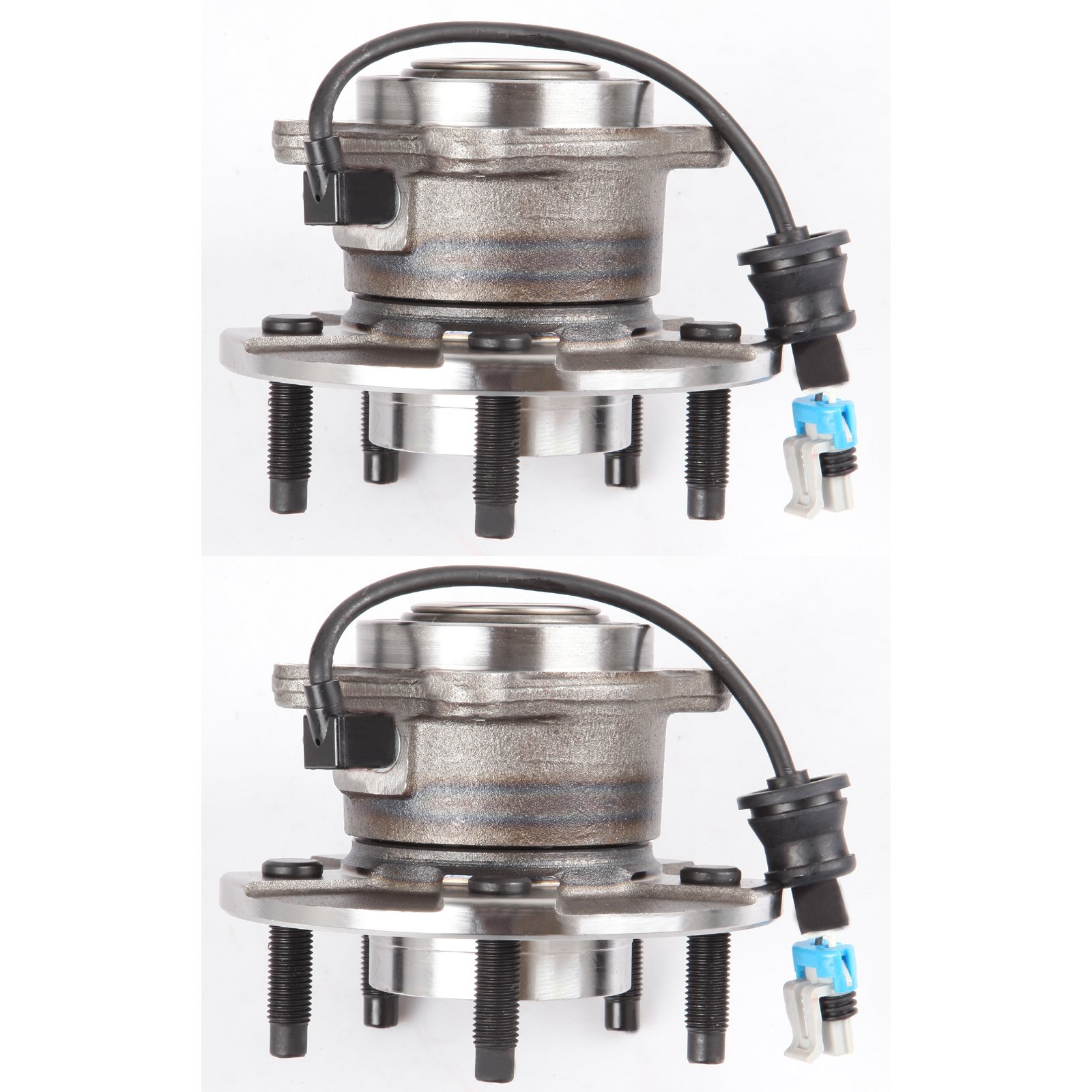 SCITOO Both (2) 512229 New Rear Wheel Hub Bearing fit 05-06 Chevy Saturn 5 Lugs W/ABS
