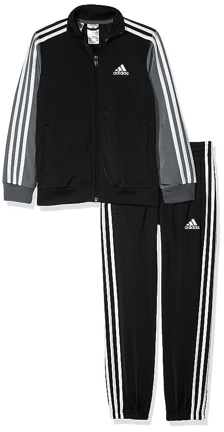 6b321b29558 adidas Children's Tibero Track Suit Kids Gym: Amazon.co.uk: Sports ...