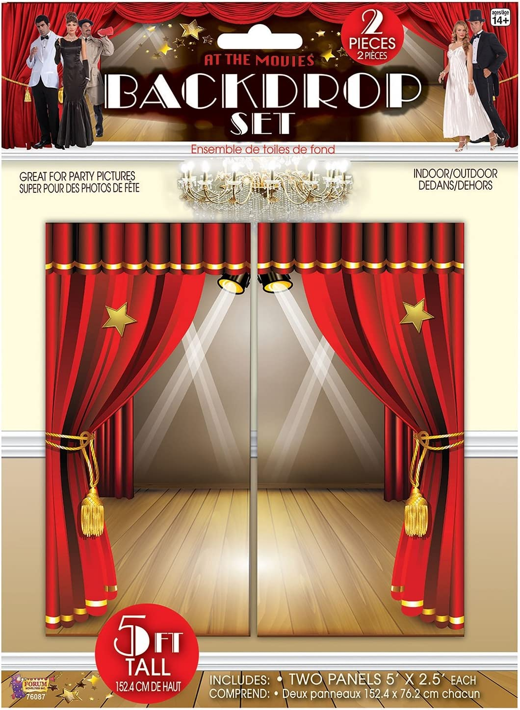 Amazon Com Fancy Me Large 2pc At The Movies Film Cinema Red Carpet Backdrop Kits Photo Booth Selfie Station Party Decoration Accessory 6 Designs Available At The Movies Toys Games