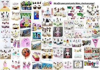 24 piezas – PJ Máscaras Kawaii Cool Hero temática ...