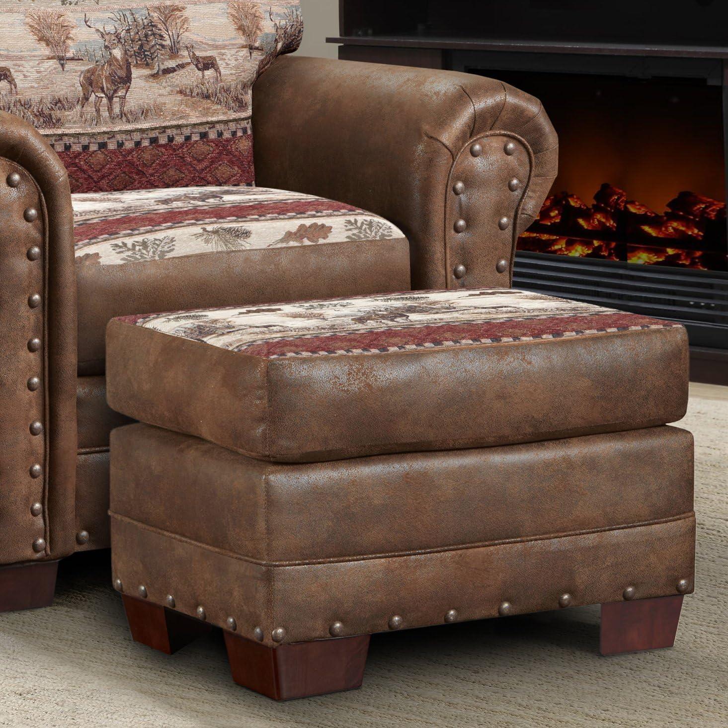 American Furniture Classics Deer Valley Ottoman