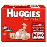 Huggies Fralda Supreme Care Mega M, 40 Fraldas