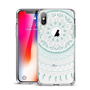 coque iphone xs silicone transparent motif