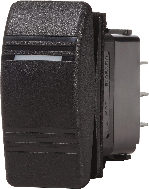 Blue Sea Systems wasserabweisend schwarz & grau Contoura III Schalter 8233