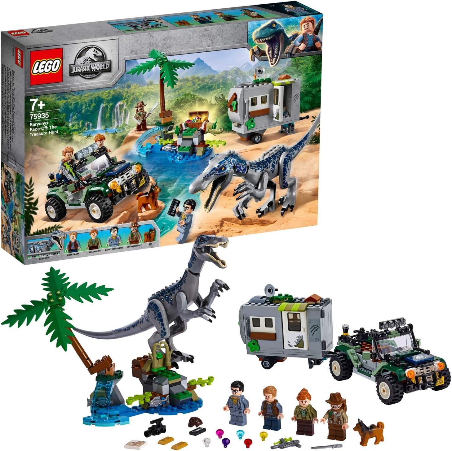 レゴ(LEGO)ジュラシック・ワールド バリオニクスの対決トレジャーハント 75935